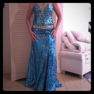Beautifu Sequence dress worn only once.